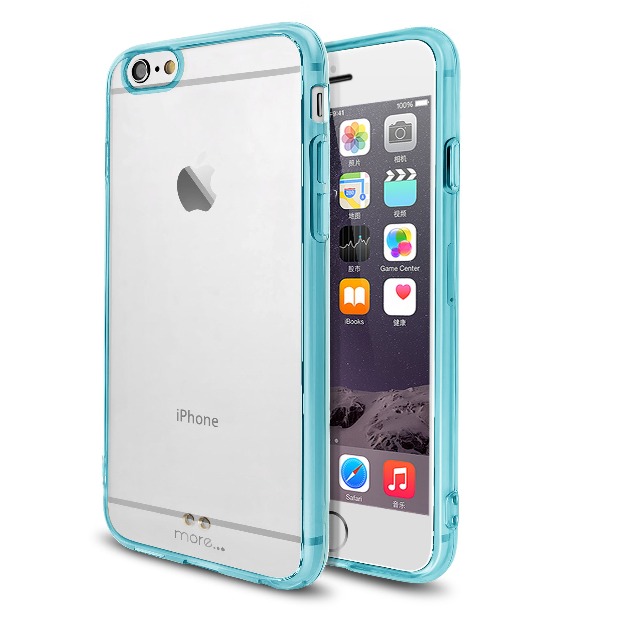a6175b69c4 More Ultra Thin BumperLicious Case + Clear Hard Back Series for iPhone 6S / iPhone  6 ...