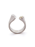 Double Tear Pear Ring