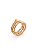 Roped Serpent Ring