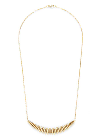 Ridge Arc Necklace