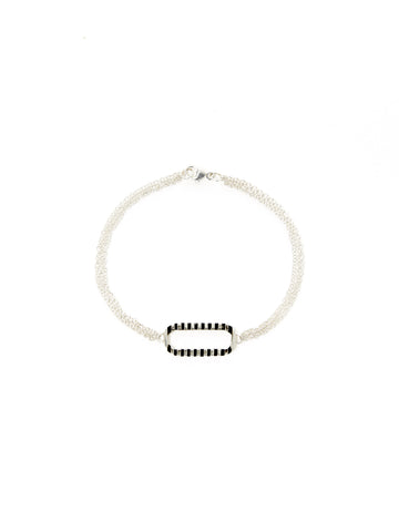 Multi-Chain Ridged Loop Bracelet