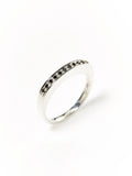 Black Diamond Slab Ring