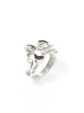 Silver Organic Swirl Cut-Out Ring