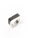 Ridged Square Ring