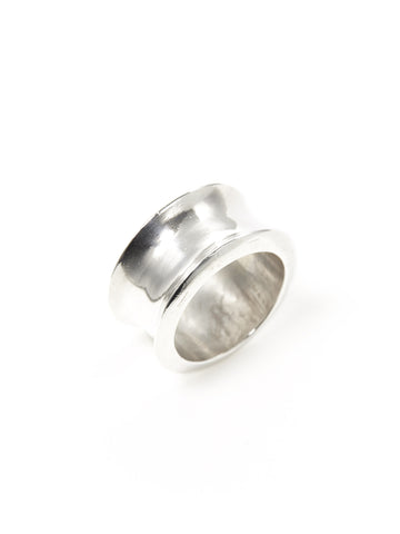 Silver Spool Ring