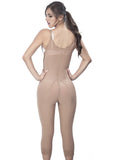 Long Girdle with Thin Strap - 1611 - Nude - Back View - Fajas y Mas