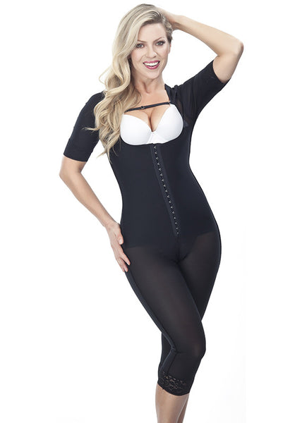 Girdle with Sleeves - Long Leg