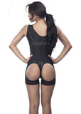 Open-rear Classic Short Girdle - 1626