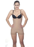 Open-rear  Short Girdle - Thin Straps - 1627