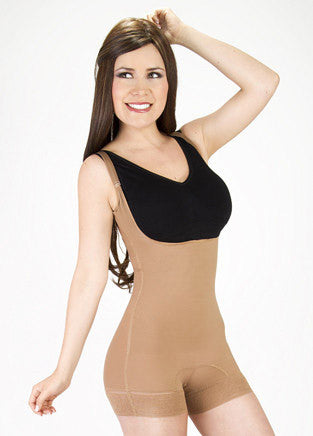 Body Shaper Short Thin Strip - fajas y mas 1643