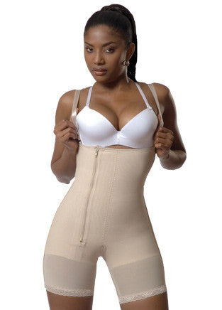 Medical Strapless Side Zipper Derriere Girdle - fajas y mas 1615
