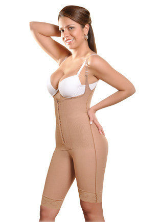 Thin Strap Girdle - 3/4 Leg - 1629