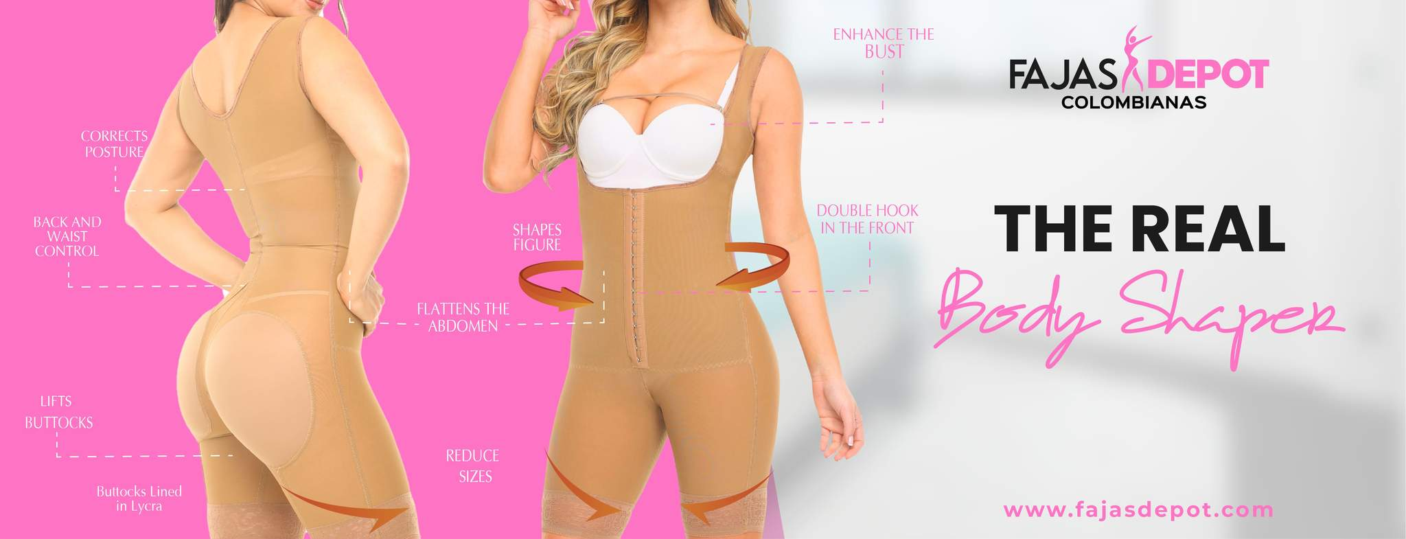 Latex waist Trainers - Burn fat and  reduce your waist line!