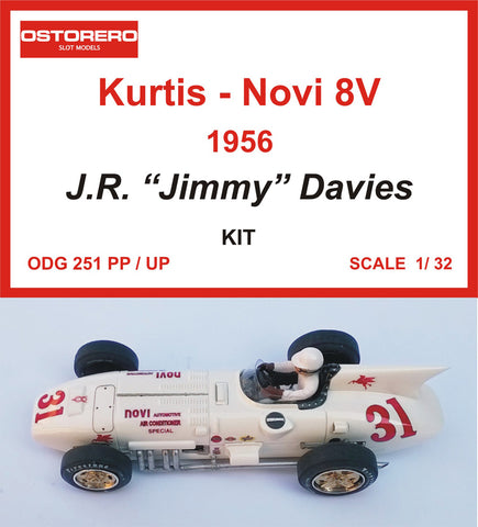 "Novi 8V - # 31 Air Conditioner  Spl  - J.R. ""Jimmy"" Davies  - 1956- Kit pre-painted"