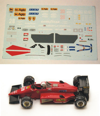 Decal 156 - 85 - René Arnoux