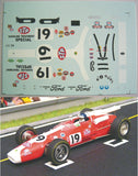 Decal Lotus Type 38 STP # 19 - Jim Clark 1966