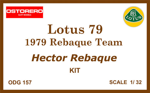 Lotus 79 Carta Blanca - Kit Unpainted