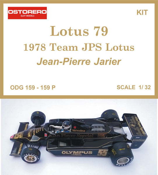Jean-Pierre Jarier  - 1978 Lotus 79 JPS - Kit Pre-painted