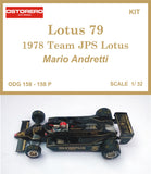 Mario Andretti  - 1978 Lotus 79 JPS - Kit Pre Painted