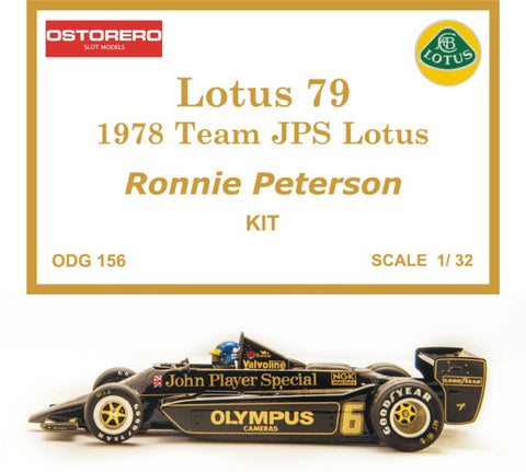 Lotus 79 R. Peterson Kit Pre Painted