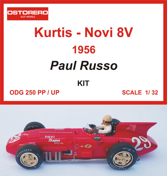 Novi 8V - # 29 Vespa Spl -  Paul Russo - 1956 - Kit pre-painted