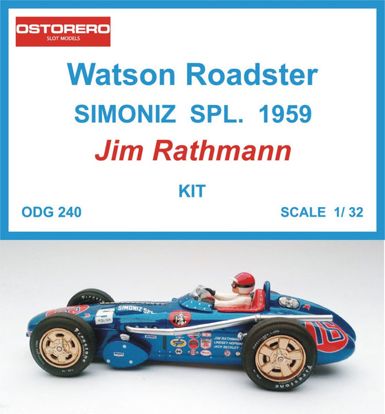 Watson - Simoniz Spl.- Jim Rathmann - Kit Unpainted - OUT OF PRODUCTION