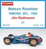 Watson - Simoniz Spl.- Jim Rathmann - Kit Pre-Painted