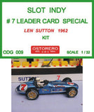 Watson - Leader Card SPL. - Len Sutton Kit Unpainted - OUT OF PRODUCTION