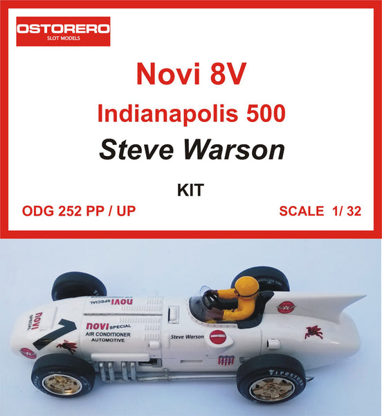 "Novi 8V - #1 Steve Warson - free inspiration from comic book ""M. Vaillant"" - Kit pre-painted"