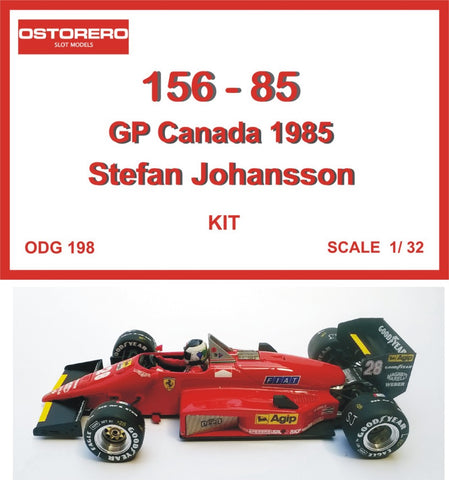 156 - 85 S. Johansson Kit Unpainted
