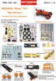 "Marmon ""Wasp"" orange livery - Ray Harroun - Kit Unpainted - SOLD OUT"