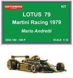 Lotus 79 Martini Racing - Mario Andretti- Kit Unpainted