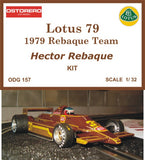 Lotus 79 Carta Blanca - Kit Unpainted - OUT OF PRODUCTION