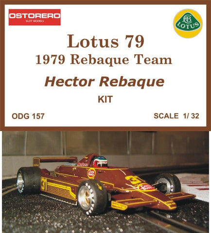 Lotus 79 Carta Blanca - Kit Pre-Painted