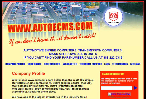 autoecms.com, engine control modules, auto ecm,