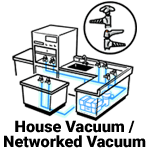 House Vacuum and Networked Vacuum Systems