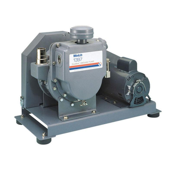 Welch 1374 DuoSeal Vacuum Pump, 115V 60Hz 1 PH, Model 1374B-01
