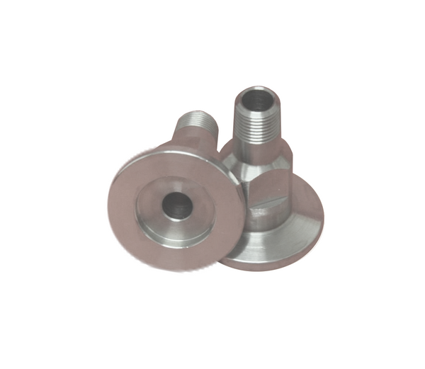 "NW16 X .125"" Male National Pipe Tap (MNPT) 304 Stainless Steel (1/8"" NPT)"