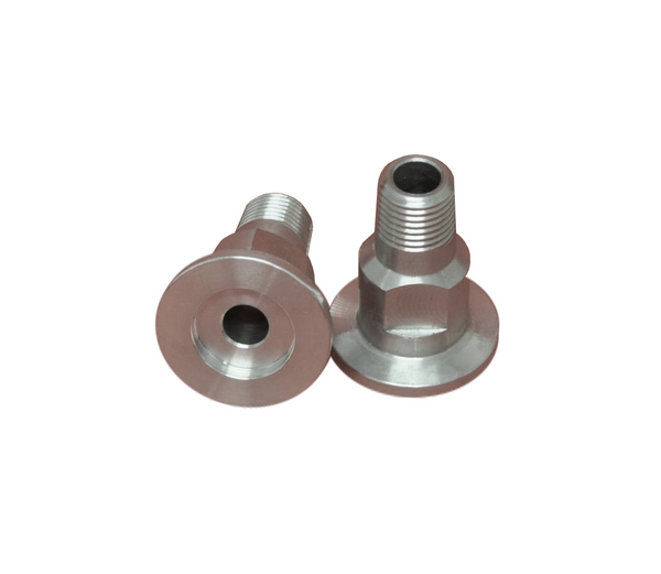 "NW16 X .250"" Male National Pipe Tap (MNPT) Aluminum (1/4"" NPT)"