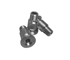 "NW16 X .375"" Male National Pipe Tap (MNPT) 304 Stainless Steel (3/8"" NPT) - Chemtech Scientific"