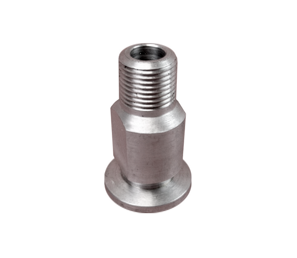 "NW16 X .500"" Male National Pipe Tap (MNPT) 304 Stainless Steel (1/2"" NPT)"