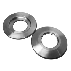 "NW25 Weld Ring 304 Stainless Steel 0.75"" Bore Accepts 3/4"" Tubing - Chemtech Scientific"