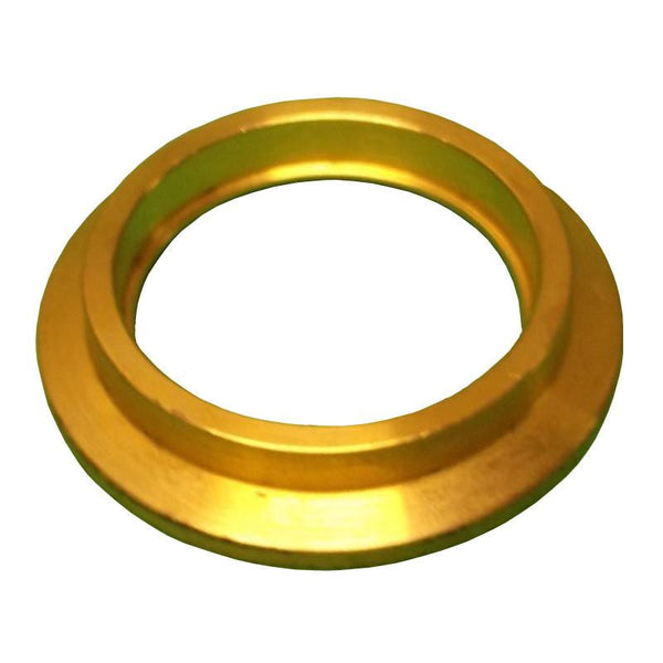 "NW40 Weld Ring Brass 1""ID Accepts 1"" Tubing"