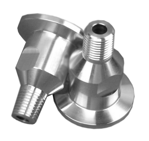 "NW25 X .125"" Male National Pipe Tap (MNPT), Aluminum (1/8"" NPT)"