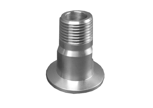 "NW40 X 1.0"" Male National Pipe Tap (MNPT) Aluminum (1"" NPT)"