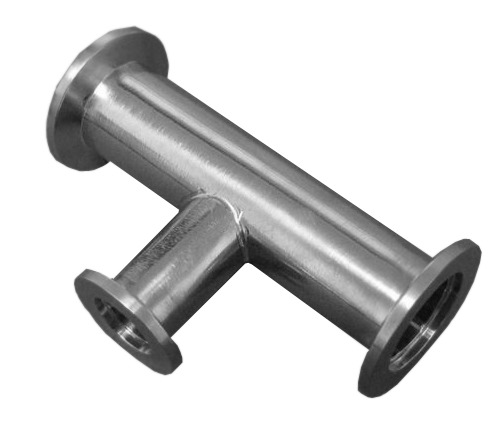NW25 X NW40 X NW40 304 Stainless Steel Adapter Tee
