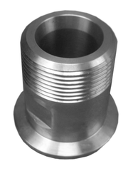 "NW40 X 1.25"" Male National Pipe Tap (MNPT) 304 Stainless Steel (1 1/4"" NPT) - Chemtech Scientific"