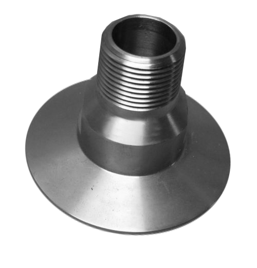 "NW50 X .750"" Male National Pipe Tap (MNPT) 304 Stainless Steel (3/4"" NPT)"