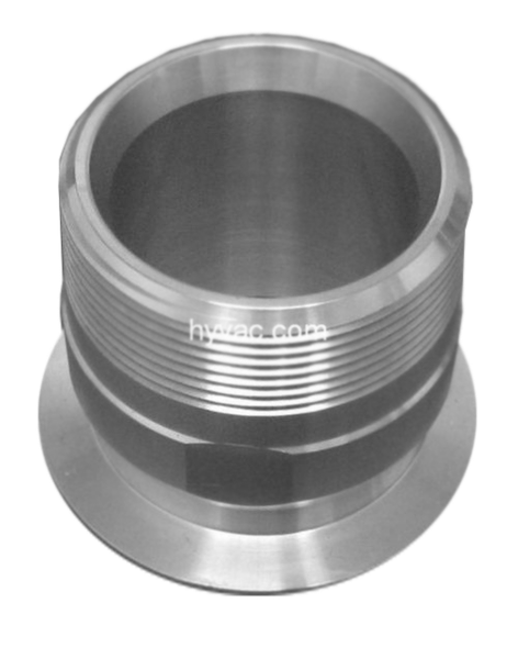 "NW50 X 2.000"" Male National Pipe Tap (MNPT) Aluminum (2"" Male National Pipe Tap (MNPT)"