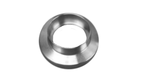 "NW16 Socket Weld Flange .51 ID 304 Stainless Steel Accepts 1/2"" Tubing"
